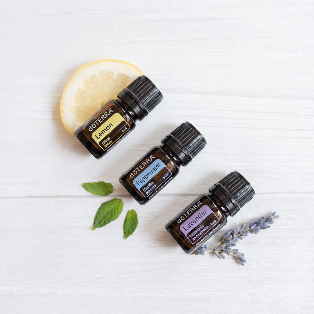 Mindsk dine allergi symptomer md doTERRAs Lemon, Peppermint og Lavender